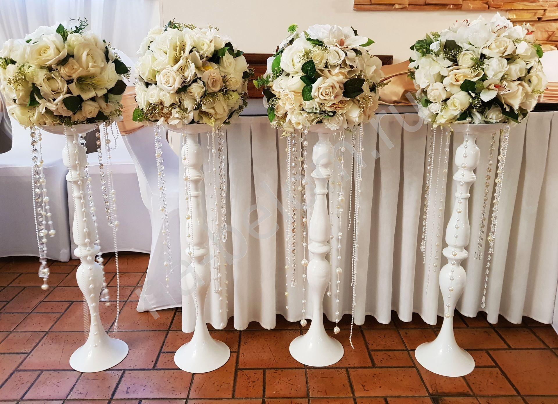 Вазы своими руками для свадебных столов 93