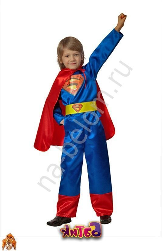 Супермен костюм новогодний своими руками
