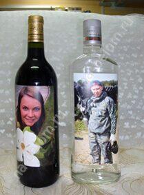 Украшаем водку на свадьбу мастер класс