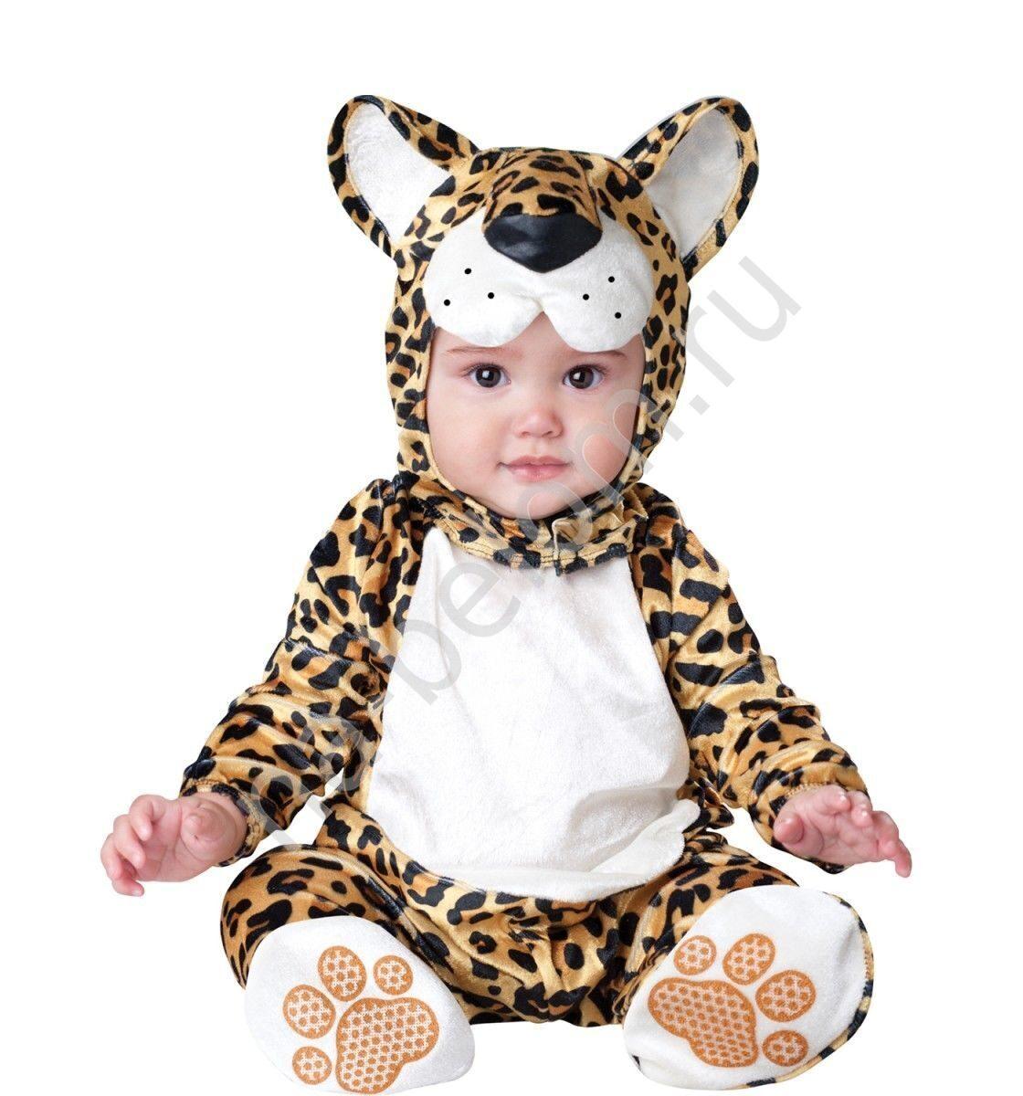 Ёлочная ватная игрушка малыш в костюме